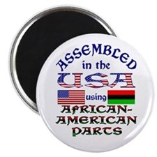 USA / African-American Parts Magnet