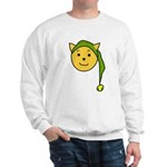 Elf-Cat Sweatshirt (white)