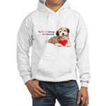 Havanese Heart Hooded Sweatshirt