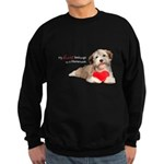 Havanese Heart Sweatshirt (dark)