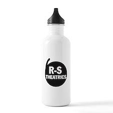 R-S Theatrics Logo Black Water Bottle