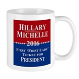 Hillary Clinton / Michelle Obama 2016 Coffee Mug