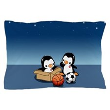 Cute Penguin Pillow Case