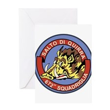 672^ Squadriglia Greeting Card