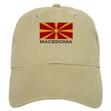 Flag of Macedonia Baseball Cap