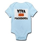 Flag of Macedonia Infant Bodysuit