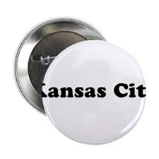 "Kansas City with Heart 2.25"" Button"