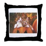 Throw Pillow: Kittens