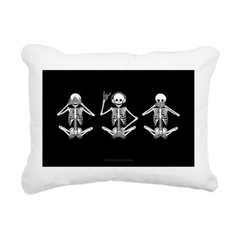 Hear No Evil? Rectangular Canvas Pillow