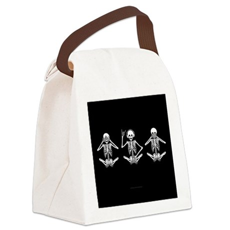Hear No Evil? Canvas Lunch Bag