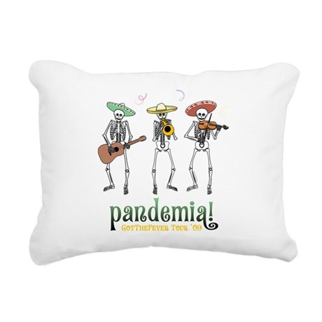 Pandemia! Rectangular Canvas Pillow