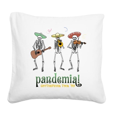 Pandemia! Square Canvas Pillow