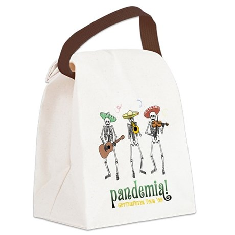 Pandemia! Canvas Lunch Bag