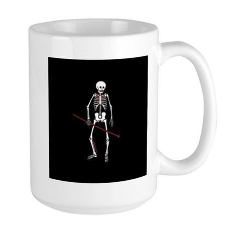 Hunting Skeleton Large Mug