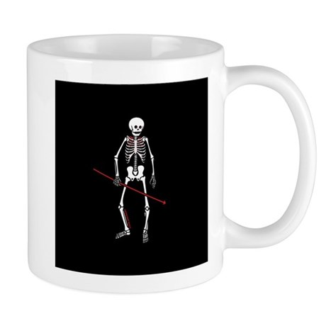 Hunting Skeleton Mug