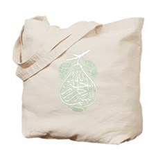 bismillah pear Tote Bag