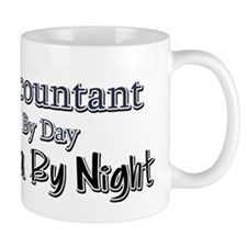 Accountant by Day Ninja by Night Small Mug