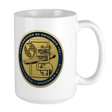 Gold CVN 65 Inactivation! Coffee Mug