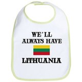 We Will Always Have Lithuania Bib