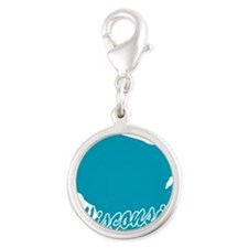 3-wisconsin.png Silver Round Charm