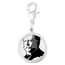 taft.png Silver Round Charm