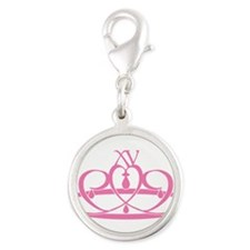 xv-crown.png Silver Round Charm