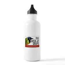 Green Jay Groupie Water Bottle