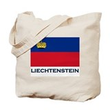 Flag of Liechtenstein Tote Bag