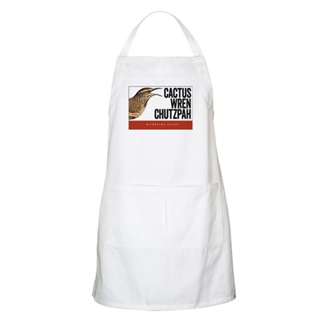 Cactus Wren Chutzpah Apron