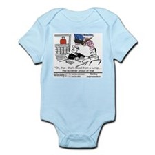 blood from a turnip - hovey Infant Bodysuit