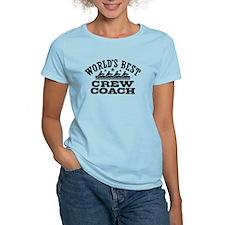 World's Best Crew Coach T-Shirt