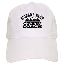 World's Best Crew Coach Baseball Cap
