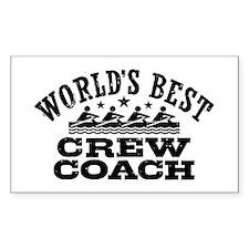 World's Best Crew Coach Decal