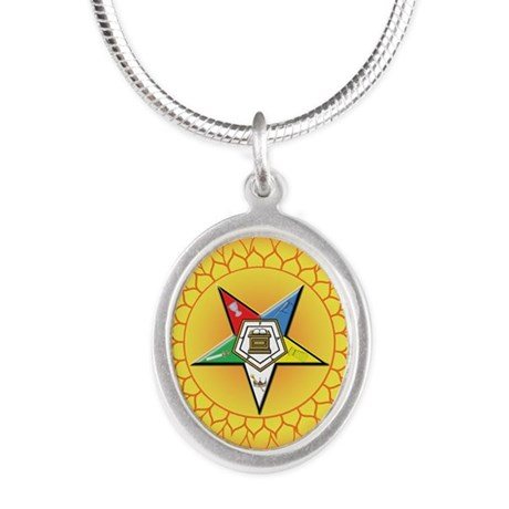 OES In the Sun Silver Oval Necklace