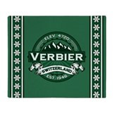 Verbier Forest Throw Blanket