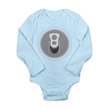 Aluminum Can Top Long Sleeve Infant Bodysuit