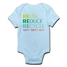 Again And Again Infant Bodysuit