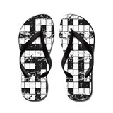 Crossword Puzzle Flip Flops