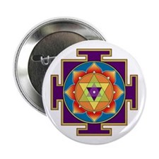 "Sri Ganesha Yantra 2.25"" Button"