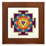 Sri Ganesha Yantra Framed Tile
