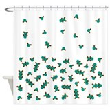 Water Molecule Shower Curtain