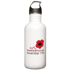 Day Of Remembrance Sports Water Bottle