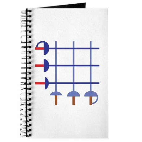 Fencing Sword Grid Journal
