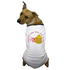 Better With Mustard Dog T-Shirt