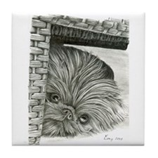 Brussels Griffon Tile Coaster