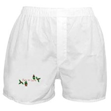 Peas on Earth Boxer Shorts