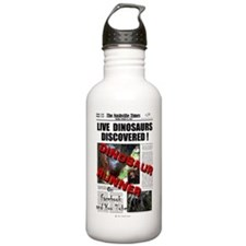 Live Dinosaurs Discovered ! Water Bottle