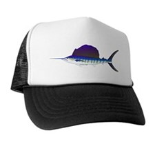 Sailfish fish Trucker Hat