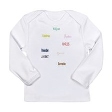 Les Miserables Long Sleeve Infant T-Shirt