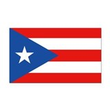 Puerto Rico - PR Rectangle Car Magnet